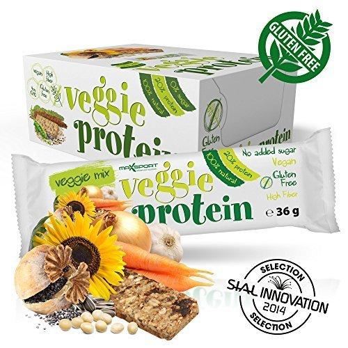 Maxsport Nutrition Glutenfrei Veganer Protein Riegel